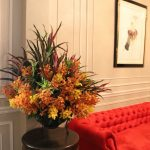 Hotel Entrance Flower